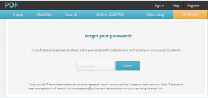 How PoF password recovery help you with Plenty of Fish account?