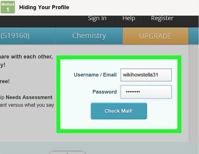 how to get your pof account back